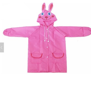 Fashion designed fabric waterproof raincoat wholesale