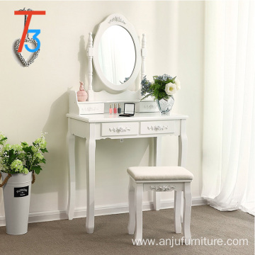 modern white wooden vanity dressing table makeup table