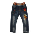 Children's Adjustable Waistband Toddler Denim Capri