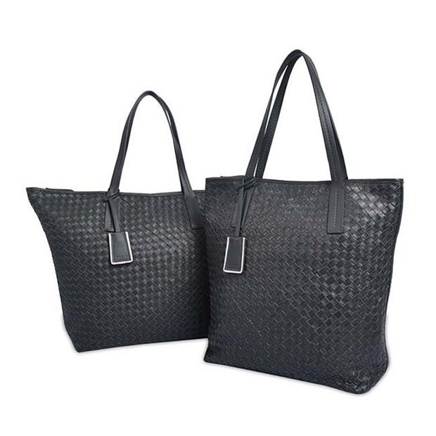 LADY LUXURY HAND WEAVED GENUINE LEATHER BAGS HIGH QUALITY ANTIQUE BAG