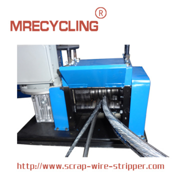 youtube wire stripping machine