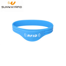 NTAG216 rfid silicone wristbands bracelet access control
