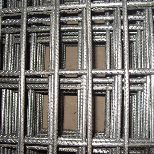 Mine support reinforcing welded mesh panel