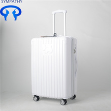 Custom travel suitcase password luggage check box