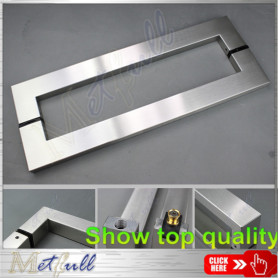 304 or 316 Satin Stainless Steel Pull Handle