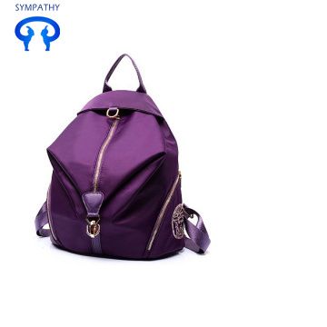 Casual simple knapsack nylon Oxford cloth travel bag