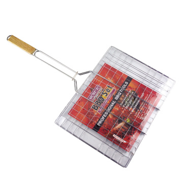 charcoal rotisserie BBQ grill mesh