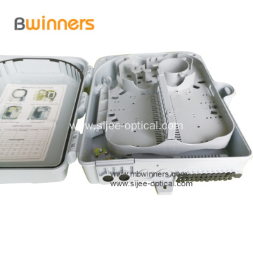 24 Fiber Optic Junction Access Terminal Nap Box