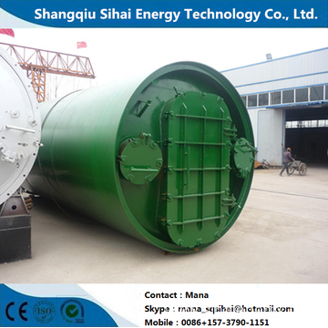 Processing Oil with Waste Rubber Pyrolysis Equipment