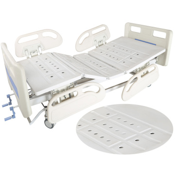 Manual type hospital equipment bed care bed