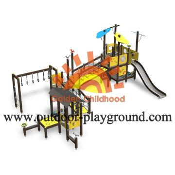 HPL Cool Backyard Outside Play Structures For Toddlers