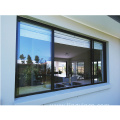 large glass aluminum window frame sliding window