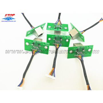 RJ45 adapter to PCB assembling
