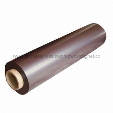 Strålande Flexibelt magnet i rulle, annonsering använda, bra i ytan DE-93