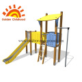 Small Kids Outdoor Playground Equipment For Sale