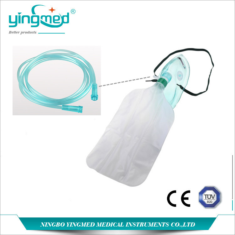 Oxygen Mask With Reservoir Bag 1