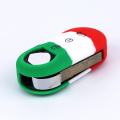 shape rubber silicone car key covers