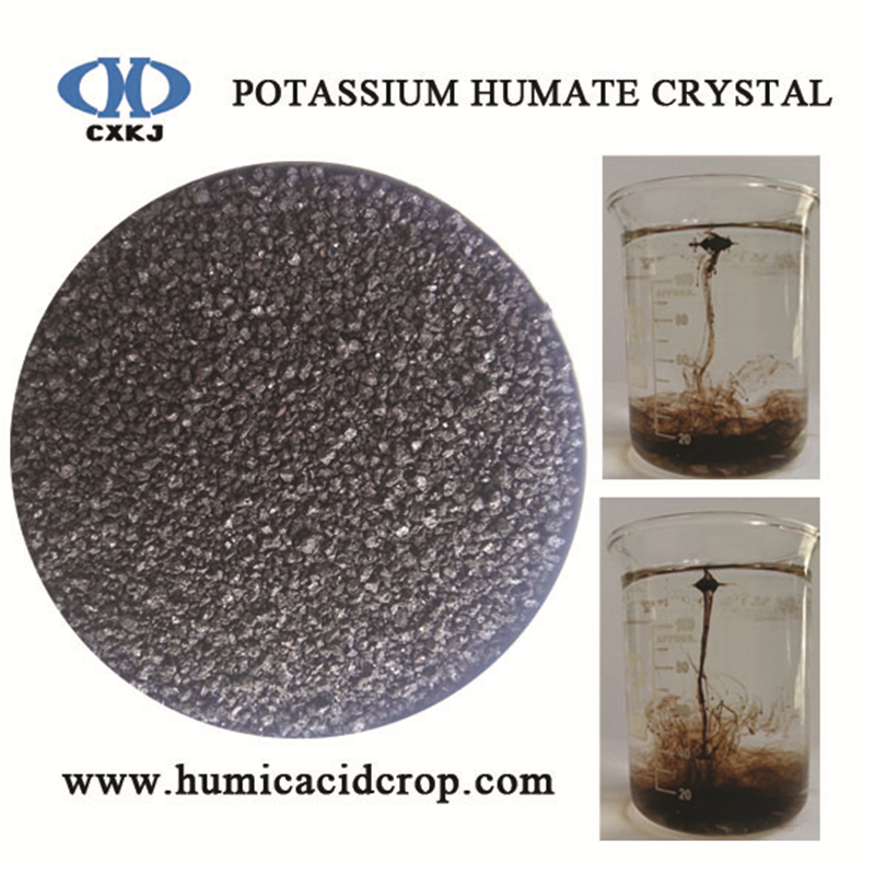 humic acid potassium humate soluble in water
