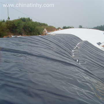 1mm/40mils HDPE Black Geomembrane for Irrigation System