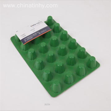 Plastic HDPE dimple drainage board for roof garden