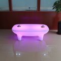 Plastic  Illuminated Color Light Led Tables Indoor