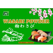 hot sushi wasabi powder