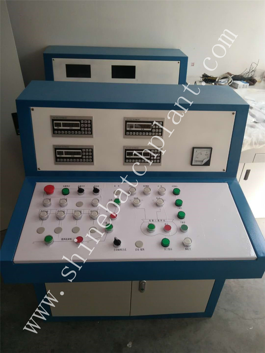 Automatic Control System For Batch Plant