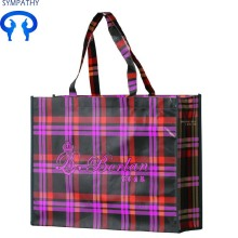 Printed custom non-woven bag flat pocket