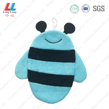 Blue style animal bath gloves
