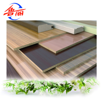 Furniture grade laminated MDF