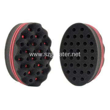 Magic Twist hair brush sponge For mens