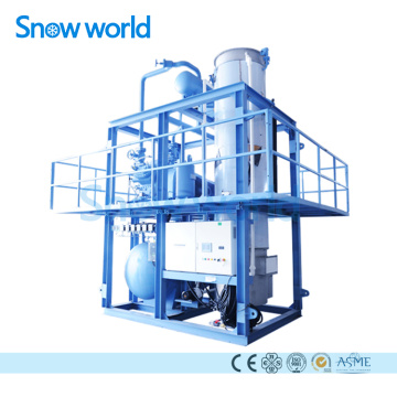 Snow world Tube Ice Machine with Ice Bin