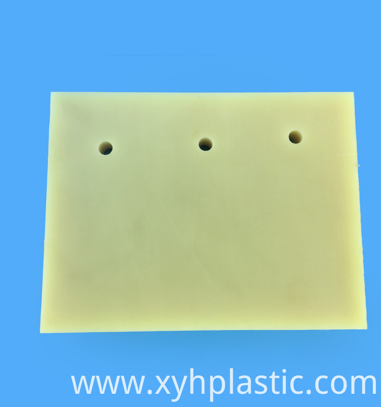 Beige Cast Nylon Sheet