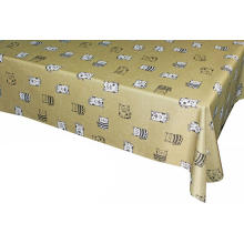 Pvc Printed fitted table covers Table Linen Vendors