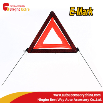 Best Price for for Safety Warning Triangle,Vehicle Triangle Warning Sign,Reflective Safety Triangle Supplier in China Red Warning Reflector Triangle supply to Nigeria Manufacturer