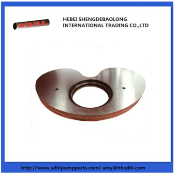 Schwing Concrete Pump Kidney Plate and Ring
