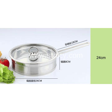 3 Piece Stainless Steel Cookware Sets for Sale