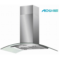 90cm Curved Glass Island Hood