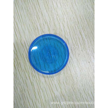 White Plastic Injection Cap