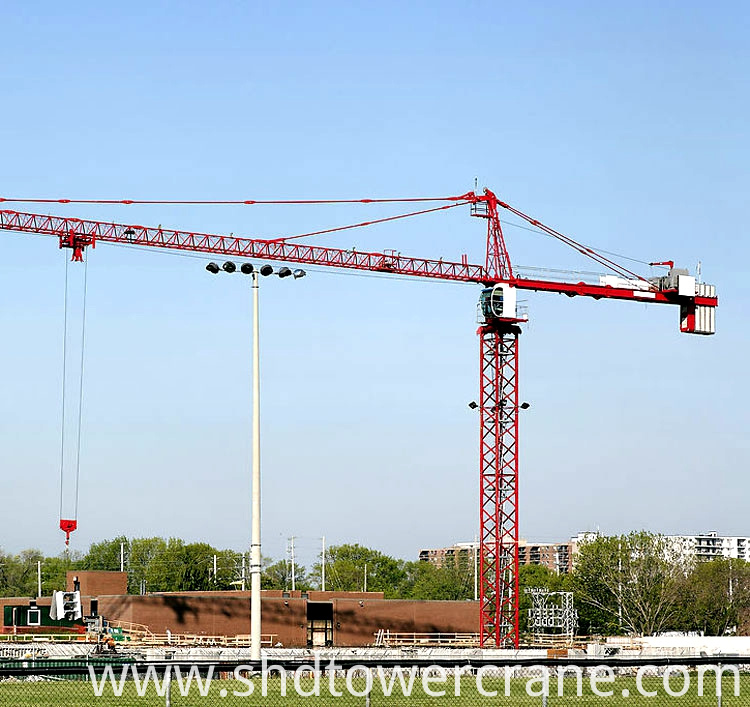building and construction equipment tower crane QTP6015-8T