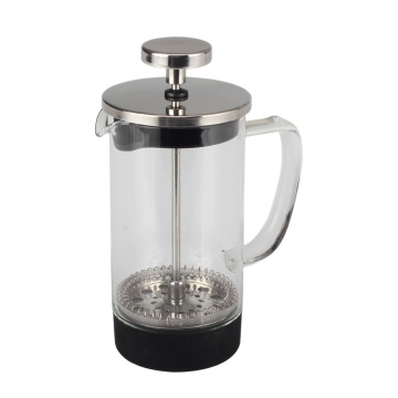Borosilicate Glass French Press With Plastic Outer Base