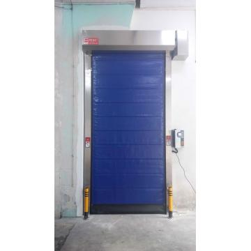 Industrial Fast Freezing Zipper Cold Room Door (Hf-Q8754)