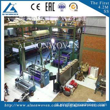 Japan Technology Melt Blown Fabric Production Line for Making Medical Products and Filtration Material