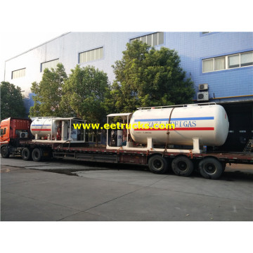 10MT Cheap Autogas Portable Skid Plants