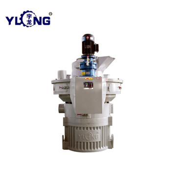 Vertical Ring Die Rice Husk Wood Pellet Mill