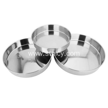 410 Round Stainless Steel Plate for Kitchen