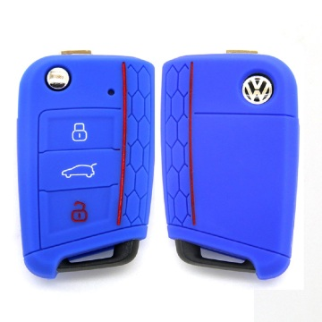 silicone vw golf 7 car key cover