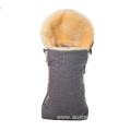 Eco-Friendly Australian Sheepskin Footmuff Universal Fits