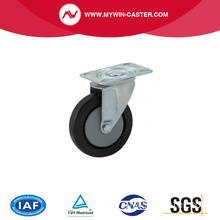 m elastic rubber caster wheel