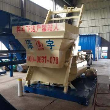JS1000 compulsory automatic self loading concrete mixer
